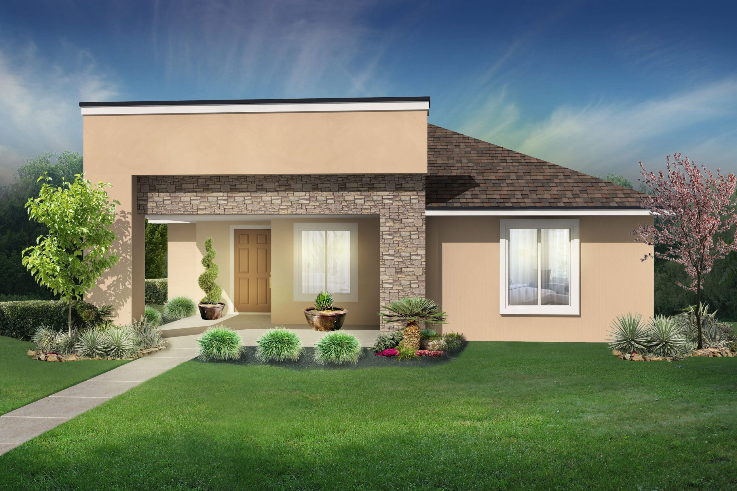Home Model Layout